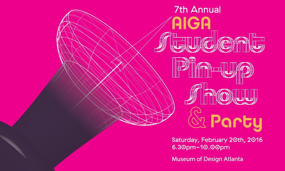 AIGA Student Pinup Show